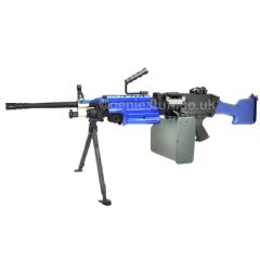 A&K M249 MK2 Support Airsoft AEG Two Tone